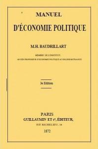 Manuel d'économie d'Henri Baudrillart