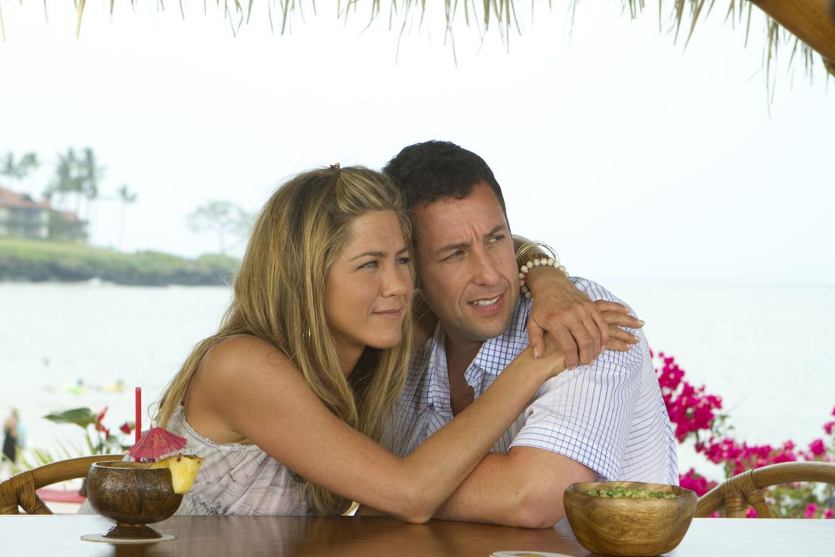Adam Sandler & Jennifer Aniston. Sony Pictures Releasing France