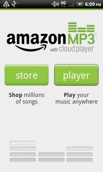 amazon mp3 with cloud player 336x560 Amazon Cloud Player Android offre la musique en Streaming