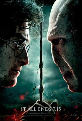 Harry Potter and the Deathly Hallows, part 2 : First official poster