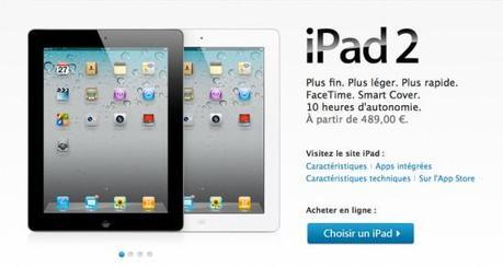Près de 9 millions d'iPad 2 écoulés ?