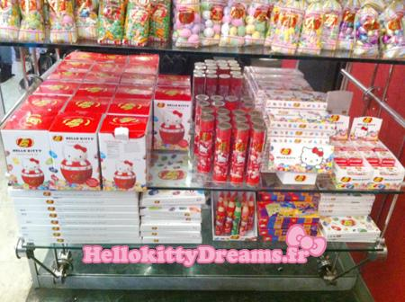 Hello kitty X Jelly Belly aux USA