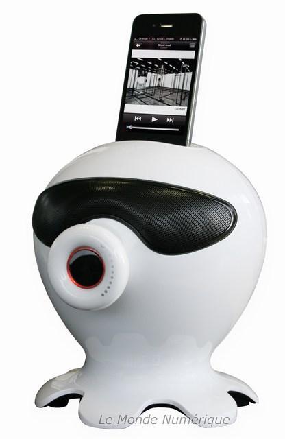 Une station d'accueil pour iPod Touch et iPhone venue d'une autre planète