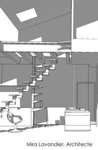 Une mezzanine
