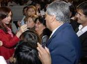Chavez milite pour réélection Cristina Kirchner