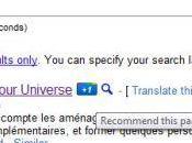 Google lance propre système recommandation