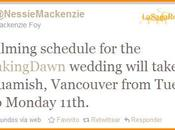 infos tournage mariage Bella Edward
