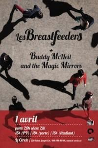LES BREASTFEEDERS + BUDDY MCNEIL AND THE MAGIC MIRRORS