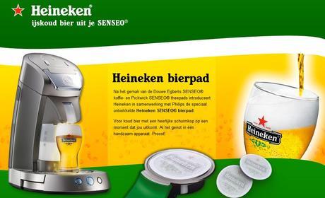 Heineken parodie Senseo et propose un faux produit pour le premier avril