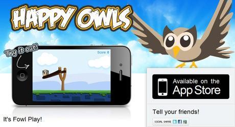 Poisson d'avril su site Hoosuite : un faux jeu pour iPhone
