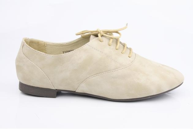 Derbies Boyfriend souples Beige