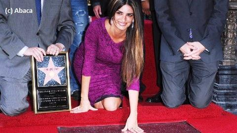 Penélope Cruz ... Elle a son étoile sur le Hollywood Walk of Fame (PHOTOS)