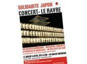 Concert solidarité pour Japon Havre mardi avril 2011