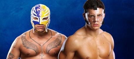Dashing Cody Rhodes VS. Rey Mysterio
