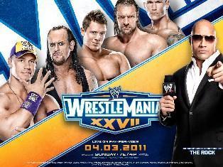 Wrestlemania 27 le 03 avril 2011