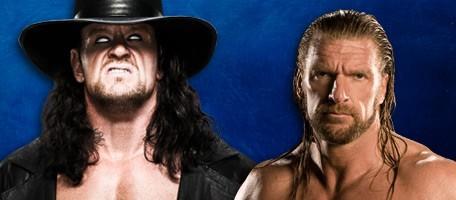 Undertaker Vs. Triple H à Wrestlemania 27