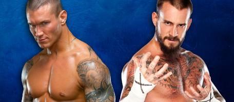 Randy Orton vainqueur de CM Punk