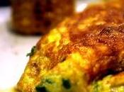 Omelette epinards/poulet