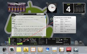 Dashboard OSX + Widget Accent