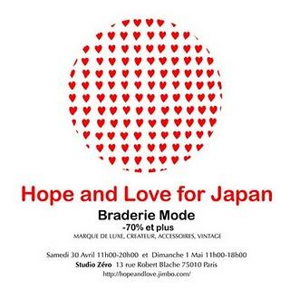 Hope and Love for Japan