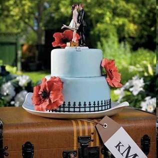 Deco de mariage theme voyage