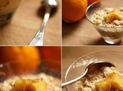 Crumble caramel pommes