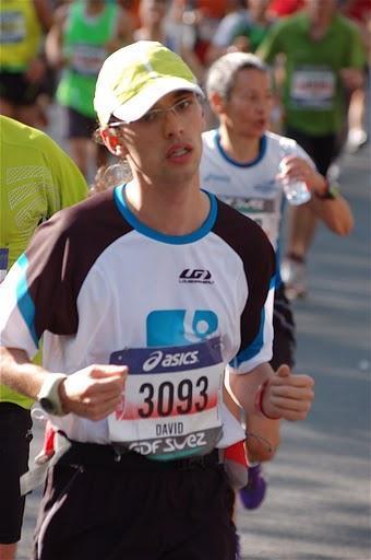 Marathon de Paris 2011 : récit de course
