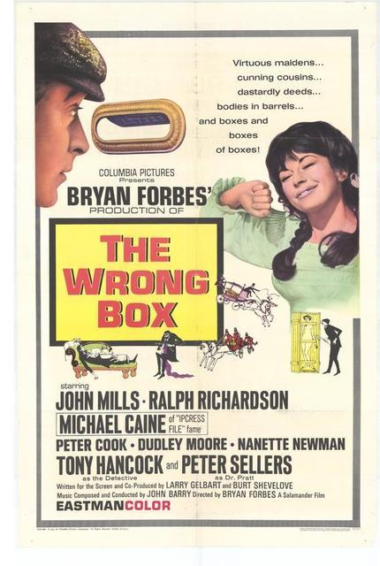 Un mort en pleine forme - The Wrong Box, Bryan Forbes (1966)