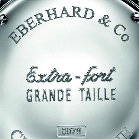 Extra fort Grande Taille caseback CMYK Eberhard & Co Extra fort Grande Taille