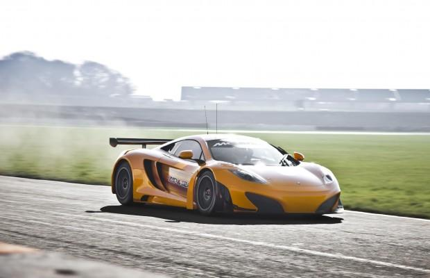 News – la McLaren MP4-12C GT3 arrive !