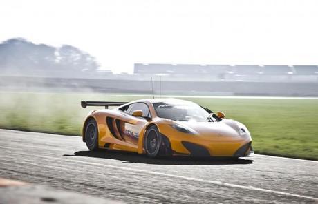 News – la McLaren MP4-12C GT3 arrive !