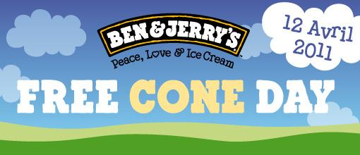 Ben & Jerry's free cone day 2011