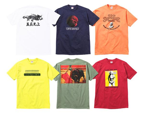 SUPREME – SPRING 2011 – TEE COLLECTION