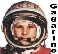 Doodle Gagarine pour le 50e anniversaire du 1er vol d'un homme dans l'espace