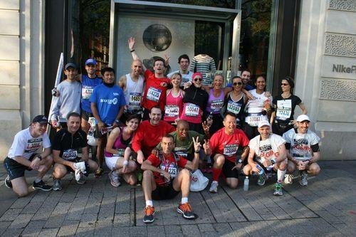 Nike Running Club en force au Marathon de Paris