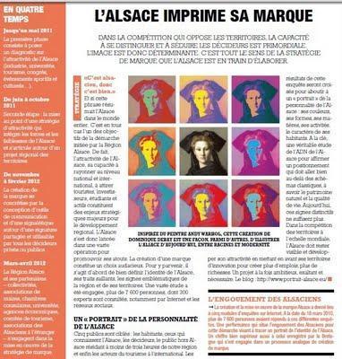 L'Alsace imprime sa Marque