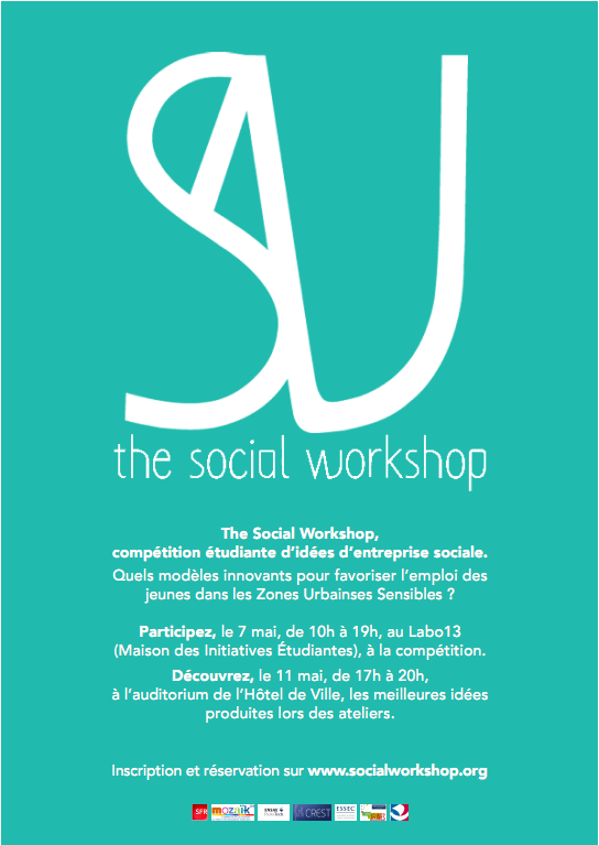 The Social Workshop, les inscriptions sont ouvertes !
