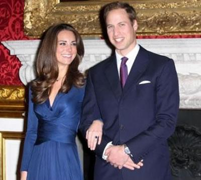 Kate et William, les futurs mariés