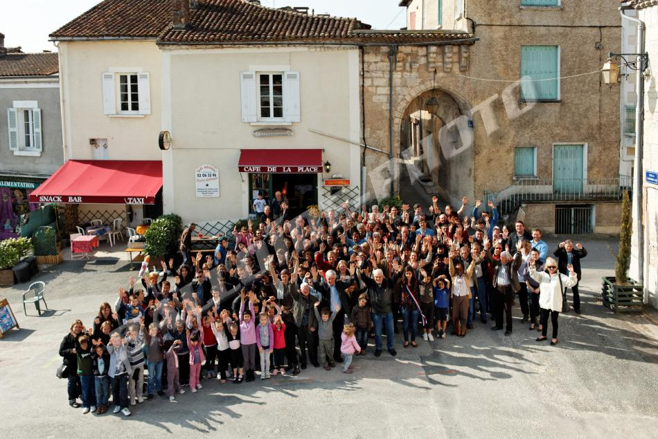 photo groupe DL Agonac