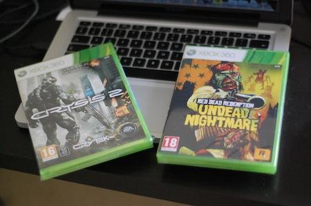 Arrivage : Crysis 2 et Red Dead Redemption : Undead Nightmare