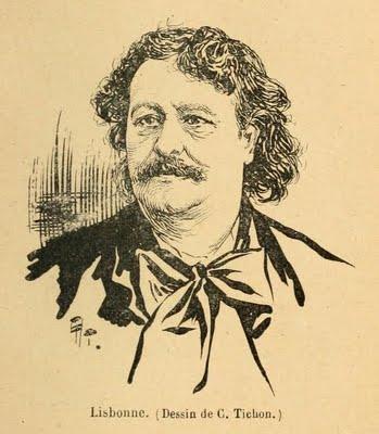 Maxime Lisbonne de la Commune au Cabaret.
