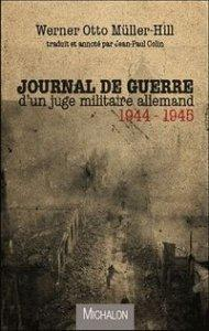 Journal de guerre d'une juge militaire allemand 1944-1945