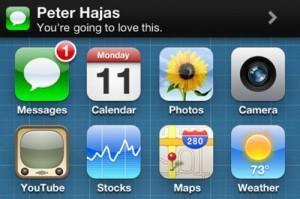 MobileNotifier: Premier apercu de la Beta 4