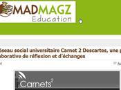 Lancement nouveau blog Madmagz Education consacré nouveaux médias l'école