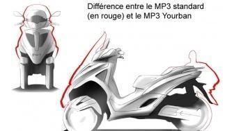 Piaggio MP3 Yourban 125 (2011)