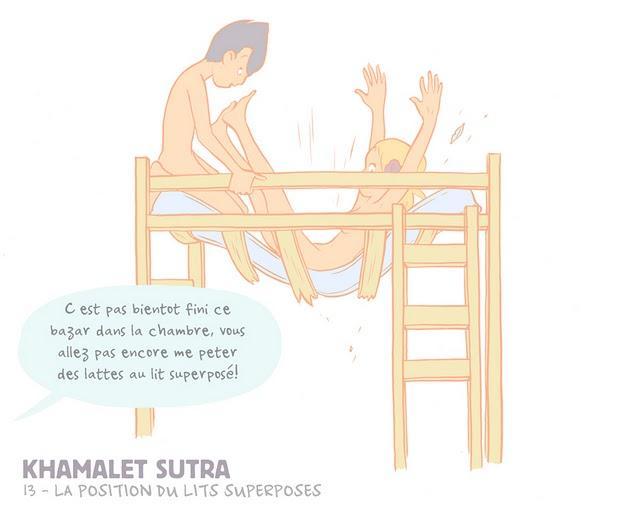 Khamalet Sutra La Position Du Lit Superpose Paperblog