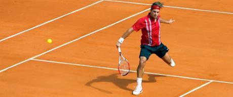 Roger Federer à Monte-Carlo