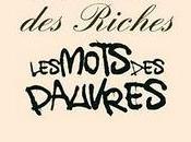 mots riches, pauvres, Jean-Louis Fournier