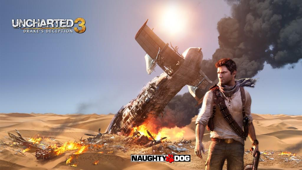 Nathan Drake dans Uncharted 3 Drakes's Deception