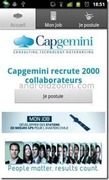 capgeminimonjobmavie101 Capgemini innove et recrute sur iPhone et sur Android !